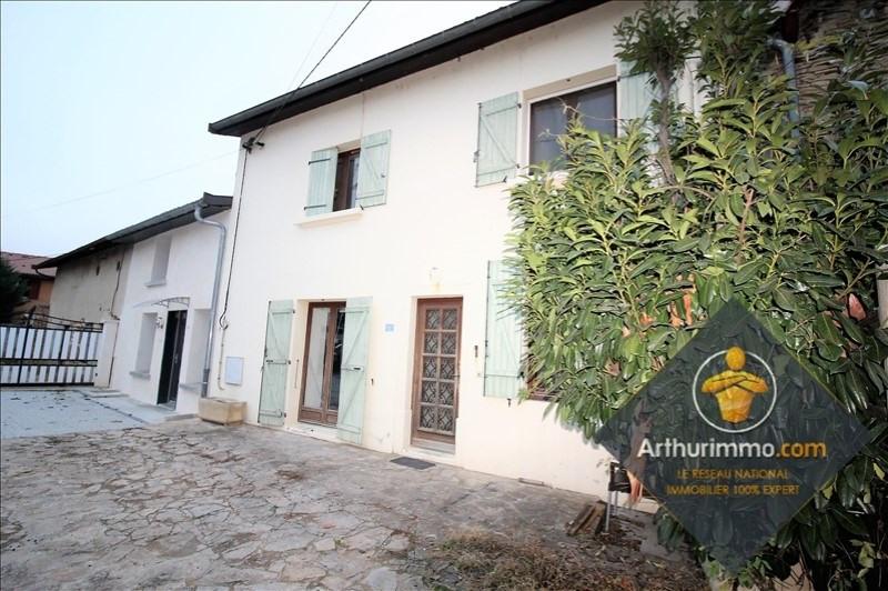 Sale house / villa St romain de jalionas 185000€ - Picture 6