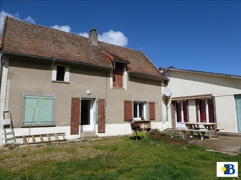 Vente maison / villa Scorbe clairvaux 132500€ - Photo 2