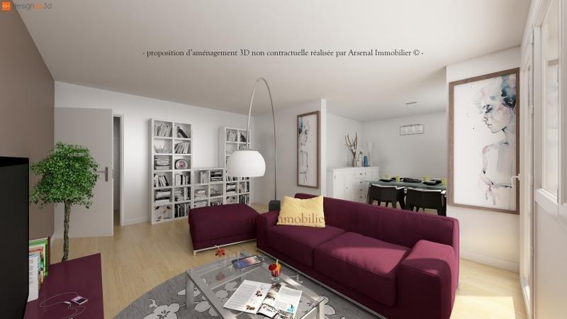 Sale apartment Metz 125900€ - Picture 1