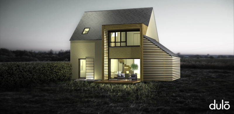 """Modèle de maison  """"Villa XS Bretagne Normandie"""" à partir de 5 pièces Calvados par DULO"""