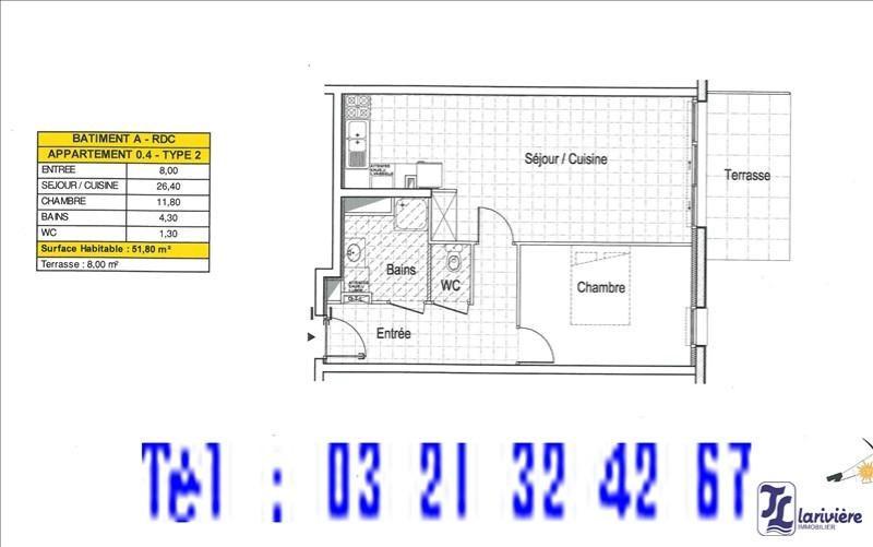Sale apartment Wimereux 198000€ - Picture 1
