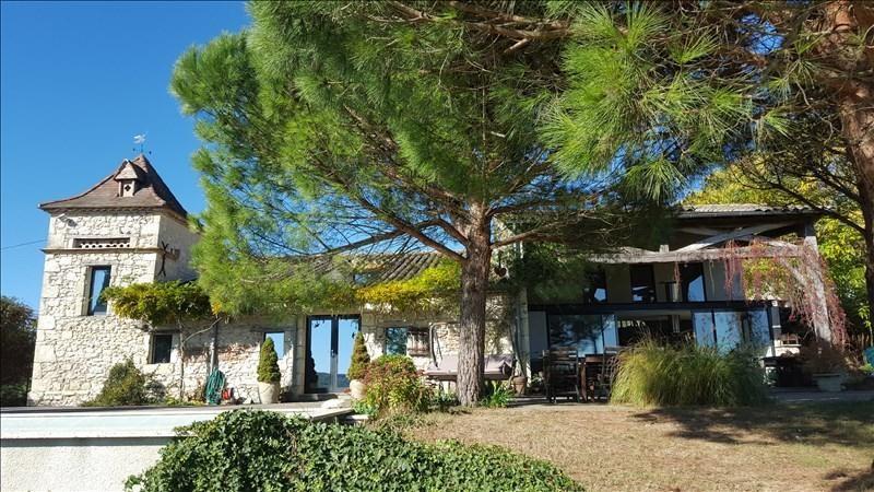 Vente de prestige maison / villa La sauvetat de saveres 449000€ - Photo 1