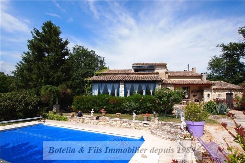 Sale house / villa Goudargues 422000€ - Picture 1