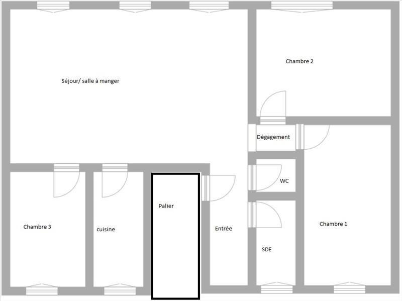 Sale apartment Puteaux 599000€ - Picture 2