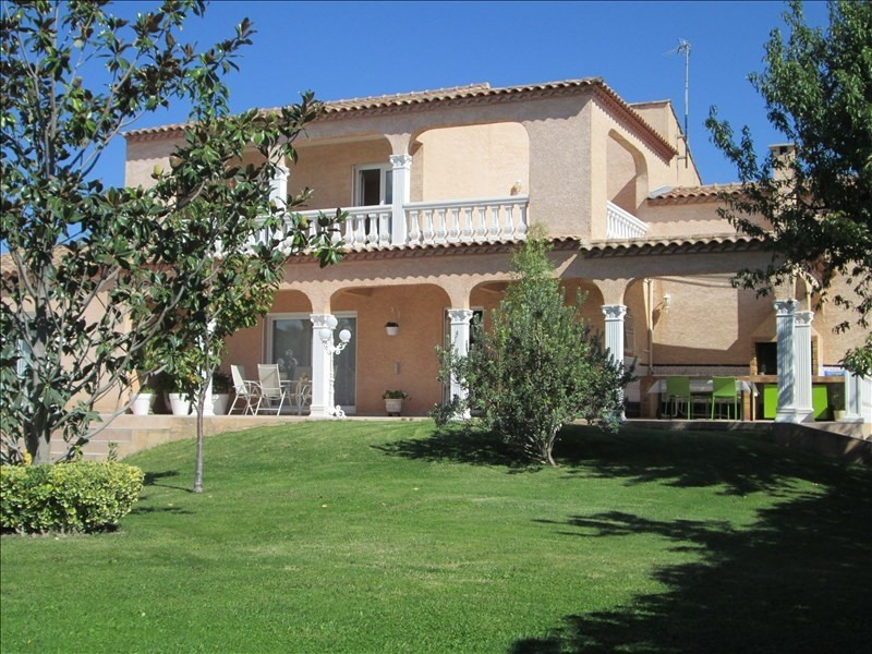 Deluxe sale house / villa Poussan 583000€ - Picture 1
