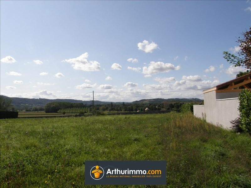 Vente terrain Morestel 81 000€ - Photo 1