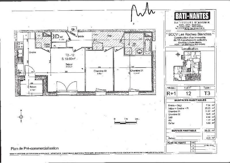 plan appartement la chapelle