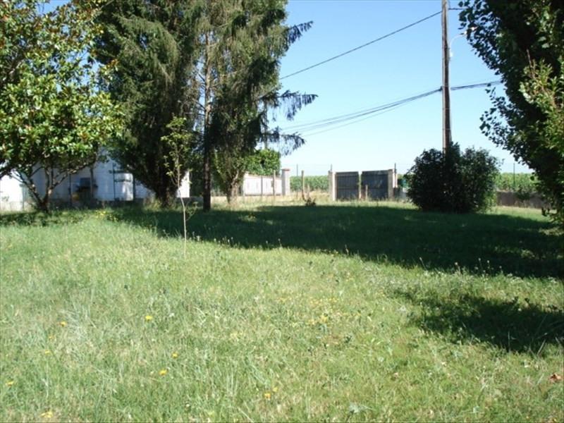 Sale site Cussac fort medoc 55000€ - Picture 1