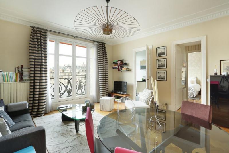 Vente de prestige appartement Paris 7ème 1125000€ - Photo 2