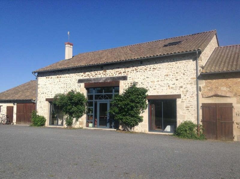 Vente maison / villa Lussac les chateaux 315000€ - Photo 1