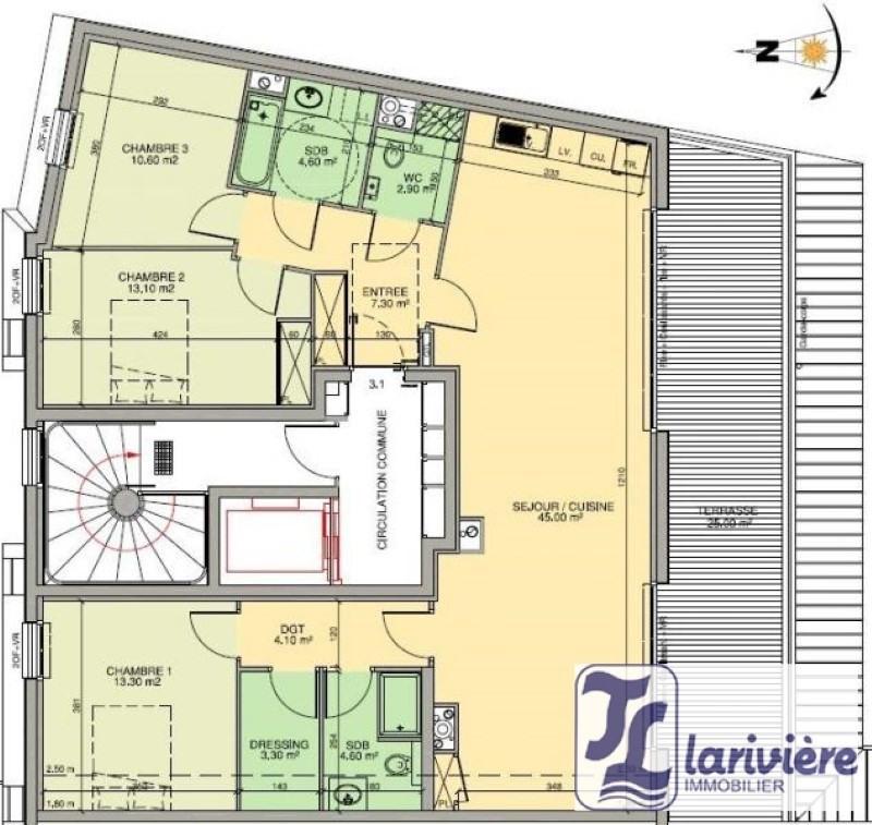 Vente de prestige appartement Wimereux 660000€ - Photo 3