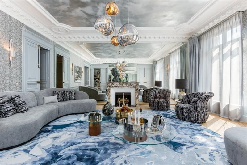 Verkoop van prestige  appartement Paris 8ème 7700000€ - Foto 1