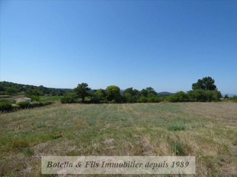 Sale site Barjac 89400€ - Picture 1