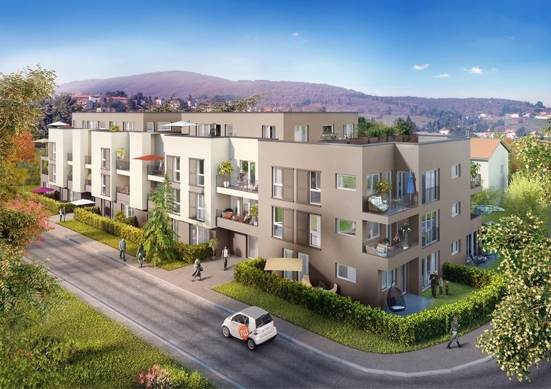 Vente appartement Pollionnay 266000€ - Photo 2