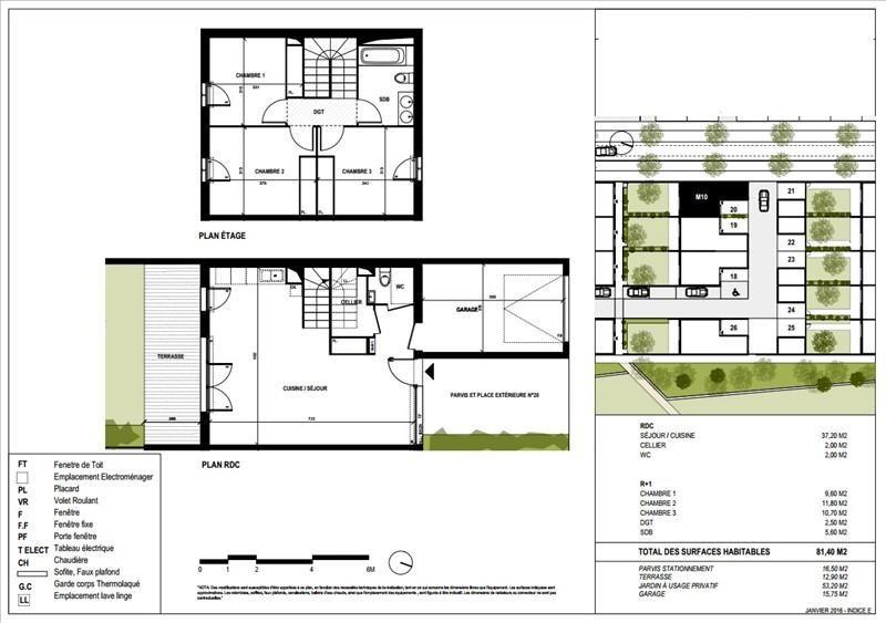 Vente maison / villa Blagnac 267000€ - Photo 3