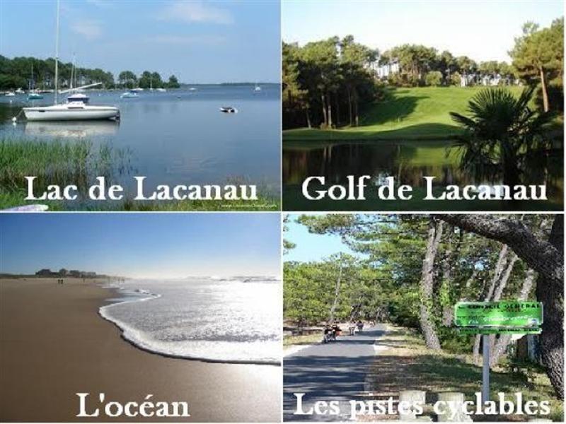 Alquiler vacaciones  casa Lacanau 827€ - Fotografía 2