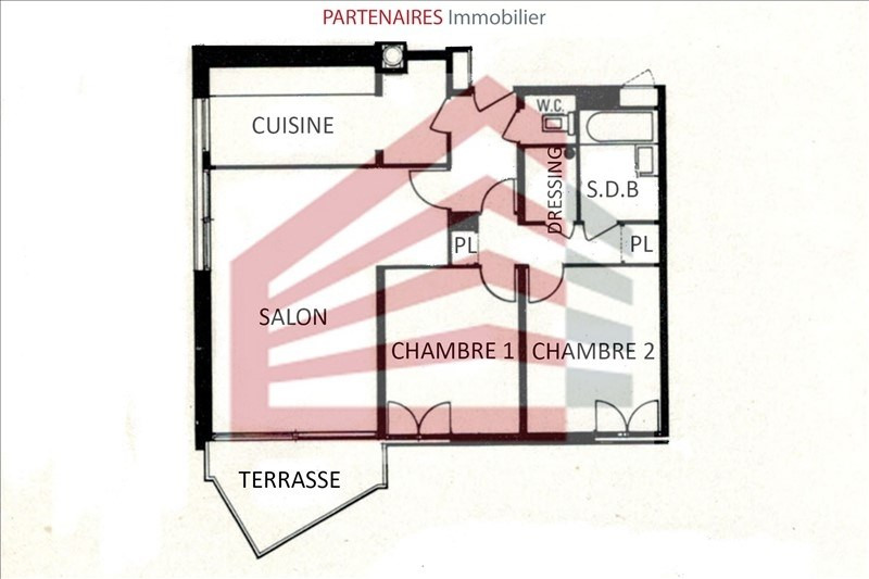 Sale apartment Le chesnay 300 000€ - Picture 6