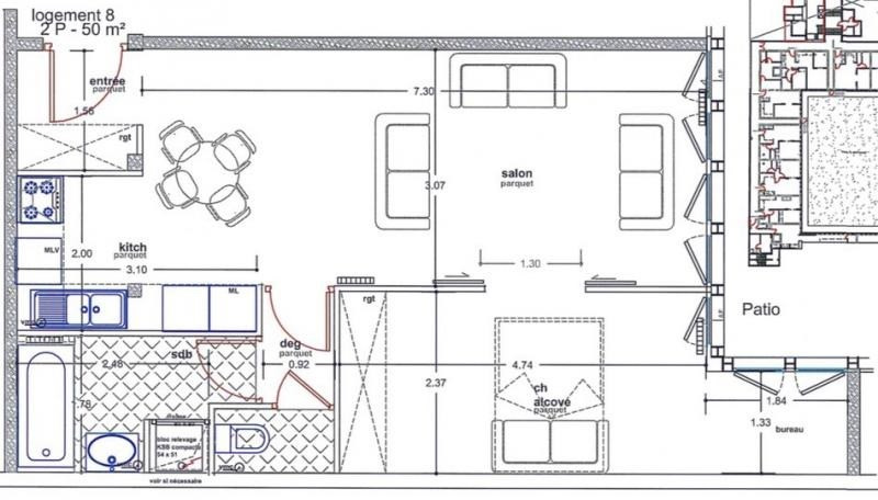 Vente appartement Paris 15ème 485 000€ - Photo 6