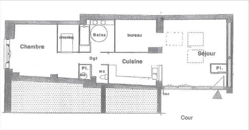 Sale loft/workshop/open plan Paris 18ème 550000€ - Picture 9