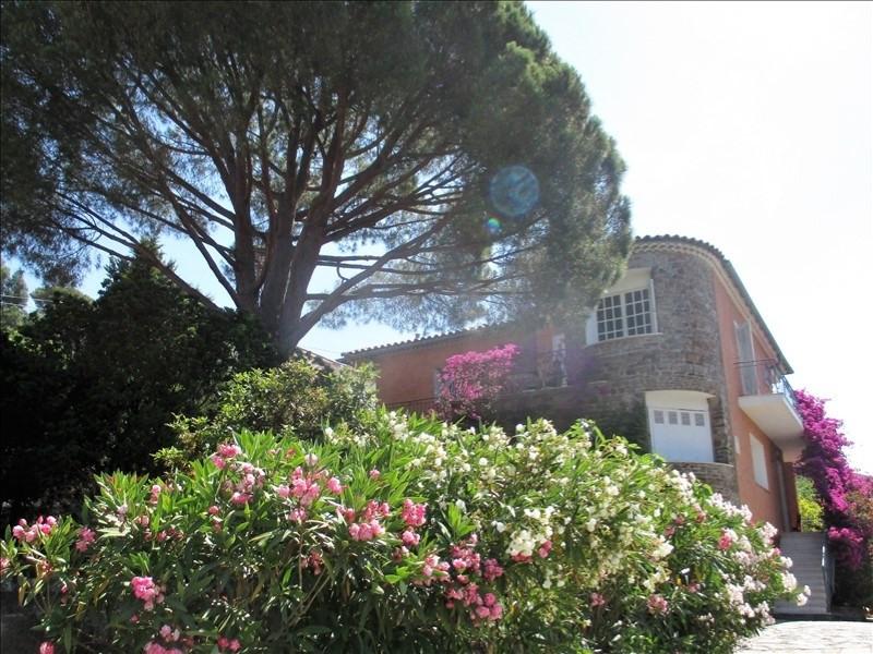 Vente de prestige maison / villa Le lavandou 1050000€ - Photo 1
