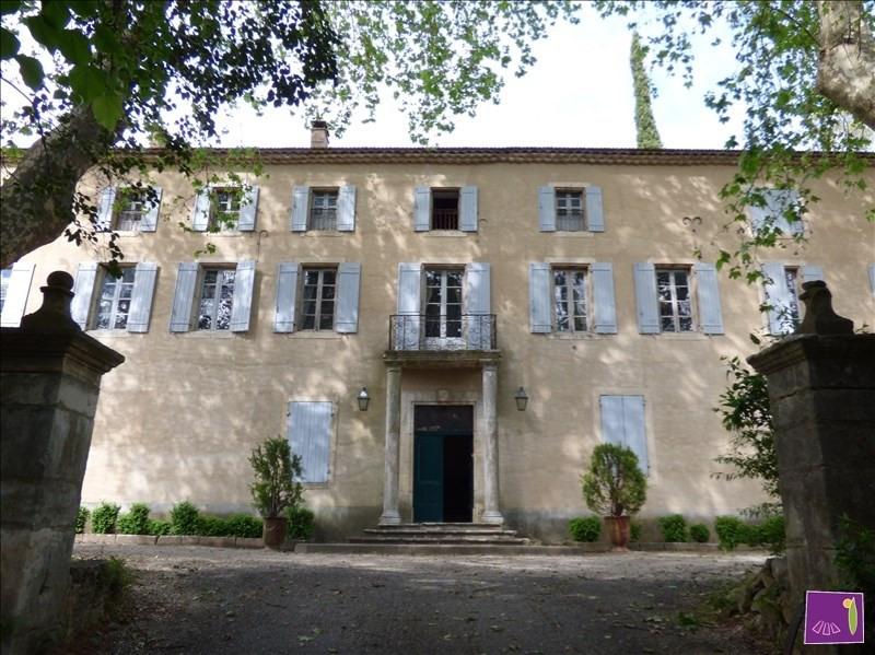 Immobile residenziali di prestigio casa Uzes 2100000€ - Fotografia 1
