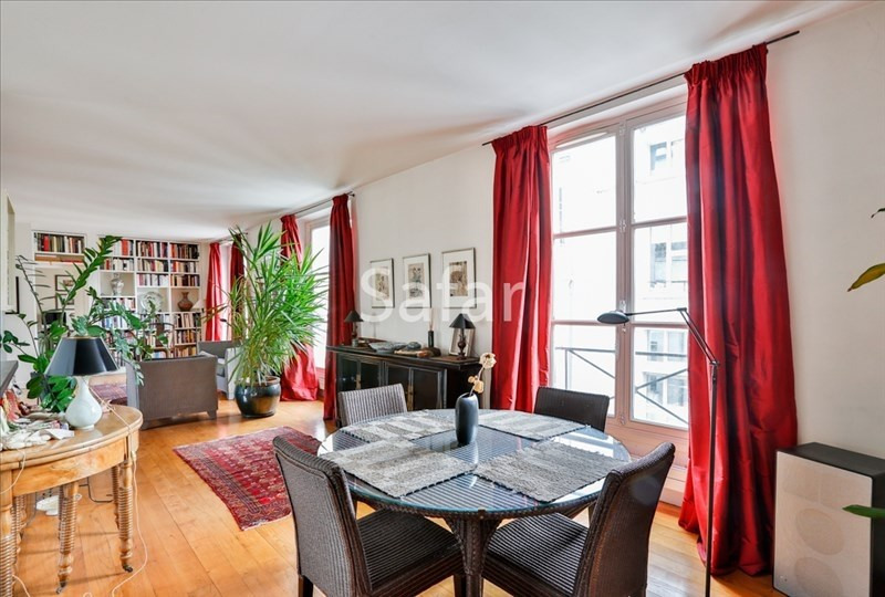 Vente de prestige appartement Paris 2ème 1265000€ - Photo 5