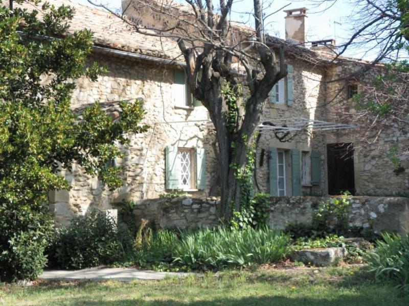 Deluxe sale house / villa Roquemaure 1190000€ - Picture 1