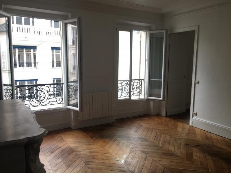 Rental apartment Paris 17ème 2200€ CC - Picture 2