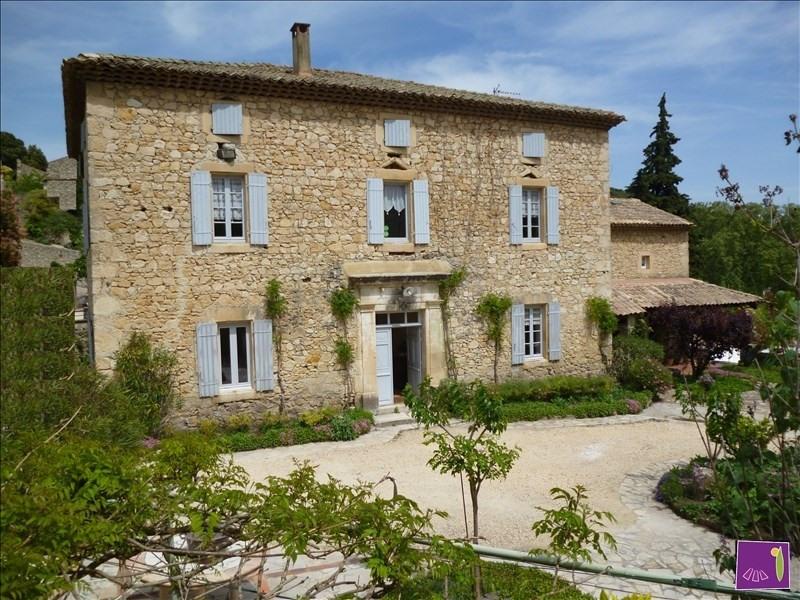 Deluxe sale house / villa Uzes 695000€ - Picture 2