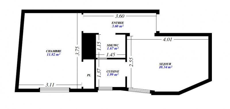 Location appartement Puteaux 744€ CC - Photo 1