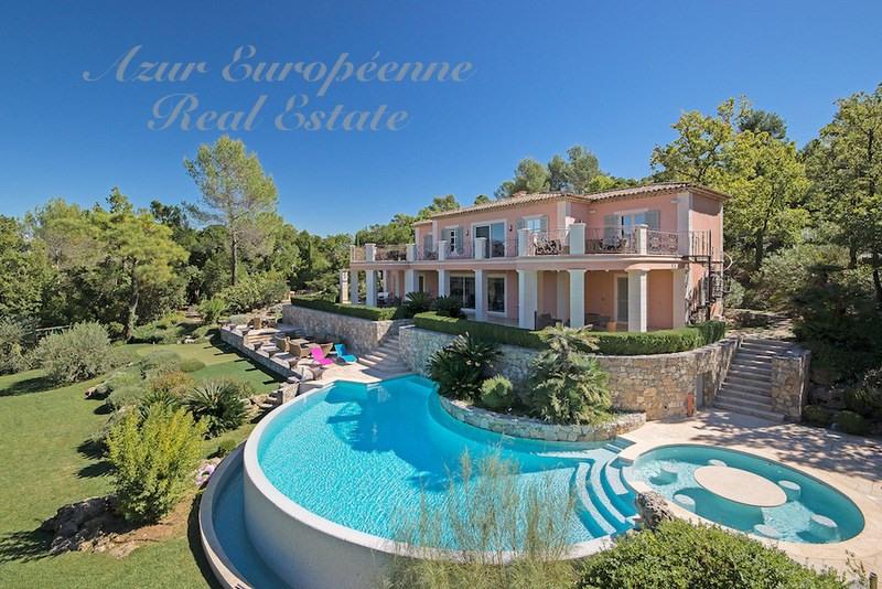Vente de prestige maison / villa Tourrettes 4850000€ - Photo 1