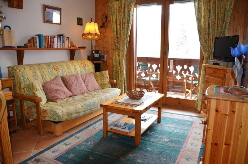 Verkoop  appartement Les houches 190000€ - Foto 2