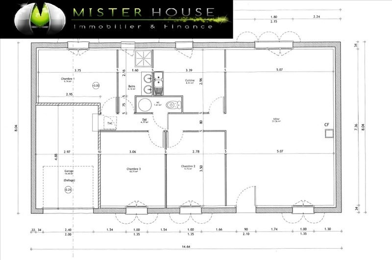 Vendita casa Puycornet 150000€ - Fotografia 3