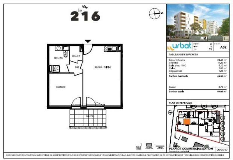 Vente appartement Montpellier 193000€ - Photo 4