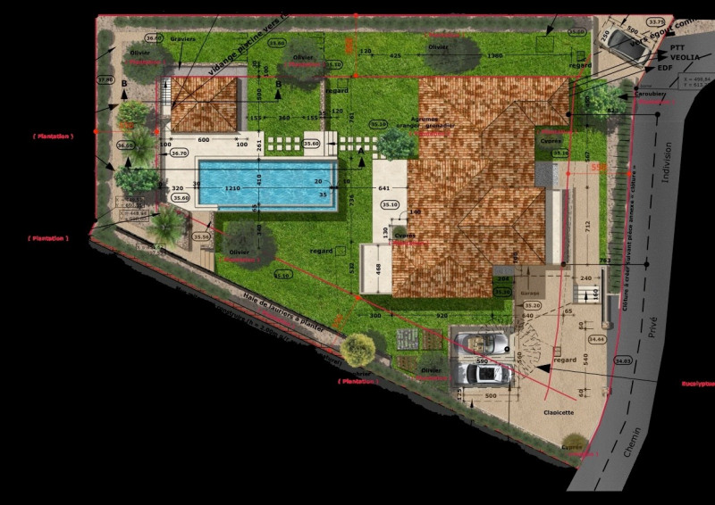 Vente maison / villa Saint tropez 4800000€ - Photo 7