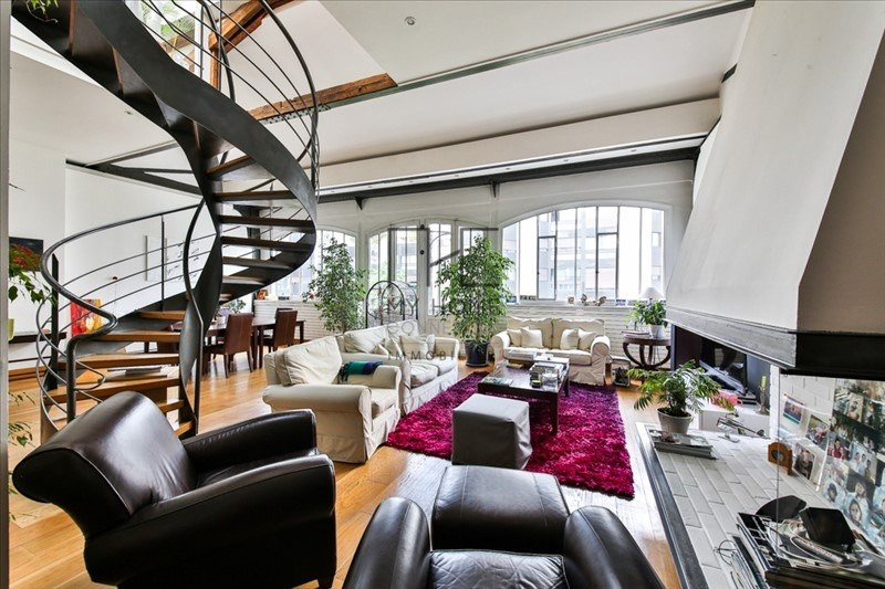 Vente de prestige loft/atelier/surface Paris 17ème 1750000€ - Photo 2