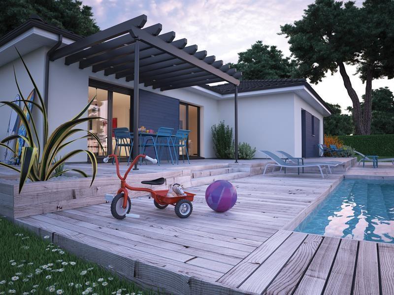 """Modèle de maison  """"Villa hortense"""" à partir de 5 pièces Landes par COULEUR VILLAS VILLENAVE D ORNON"""