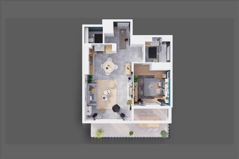 Vente appartement Reignier esery 228000€ - Photo 4