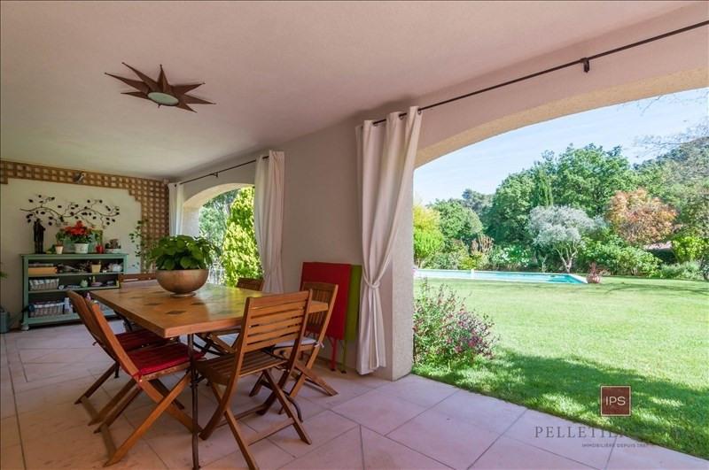 Vente de prestige maison / villa Le puy ste reparade 630000€ - Photo 4
