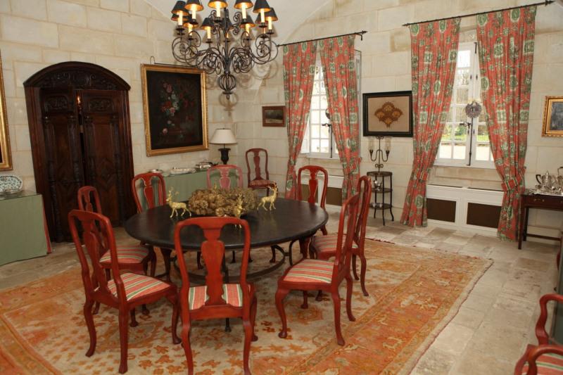 Revenda residencial de prestígio castelo Semblancay 3300000€ - Fotografia 3