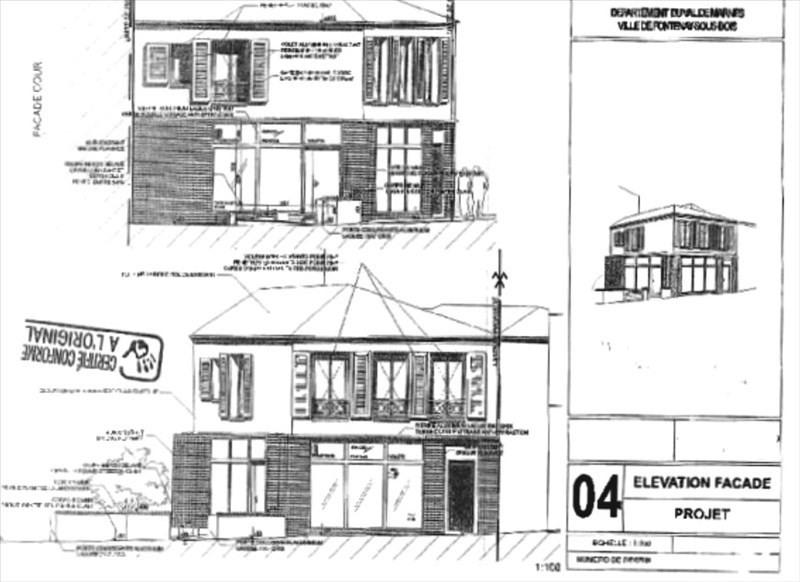 Vente maison / villa Fontenay sous bois 450000€ - Photo 1