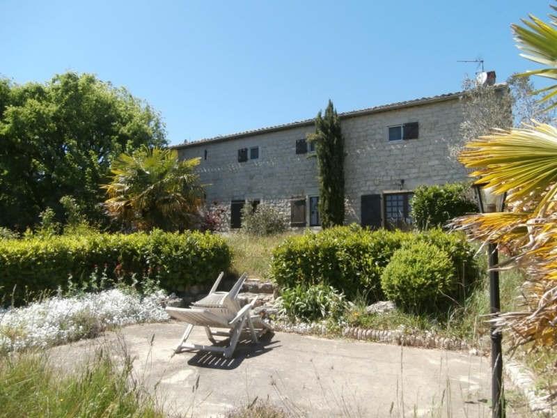 Venta  casa Ruoms 227000€ - Fotografía 1