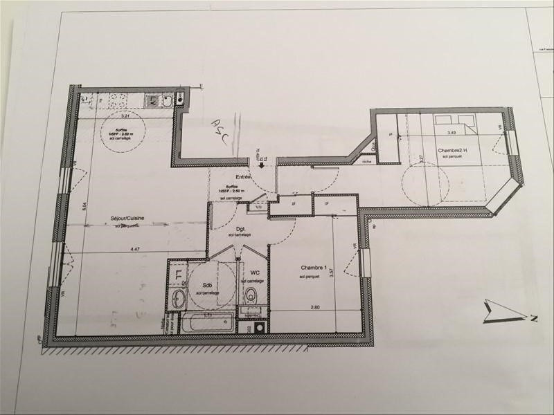 Vente appartement Villeurbanne 329600€ - Photo 2