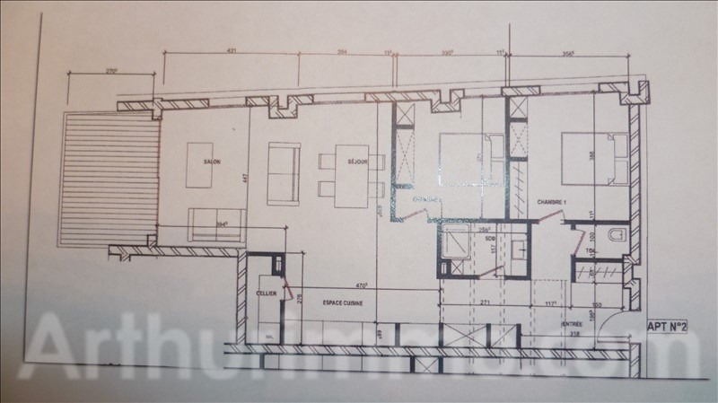 Vente appartement St marcellin 208 000€ - Photo 2
