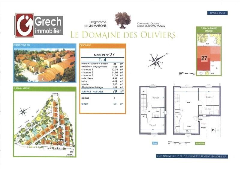 Sale house / villa Le revest les eaux 293000€ - Picture 1