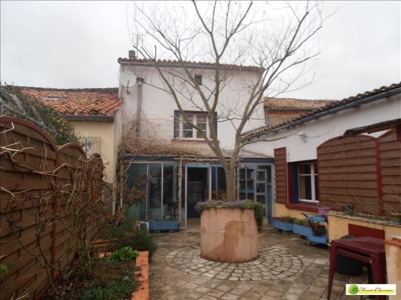 Vente maison / villa Ruelle sur touvre 123000€ - Photo 1