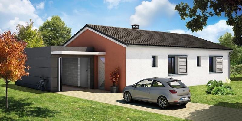 Maison  4 pièces + Terrain 1148 m² La Moutade par ELAN AUVERGNE