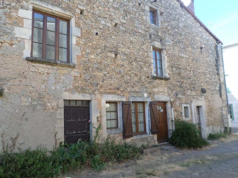 Produit d'investissement immeuble Lussac les chateaux 131000€ - Photo 1