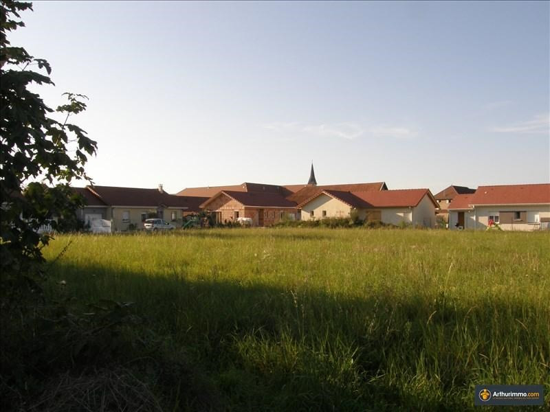 Vente terrain Morestel 60500€ - Photo 3