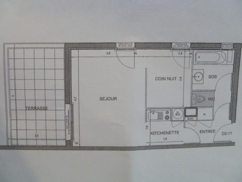 Rental apartment Saint nazaire 383€ CC - Picture 10